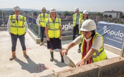 Newham Mayor Rokhsana Fiaz praises the quick mobilisation of The Didsbury site