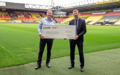 Bugler support for the community through Watford FC Community Trust